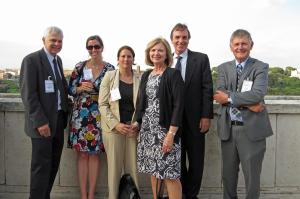 The editors (three at left), believe that mentoring strengthens the fisheries profession.
