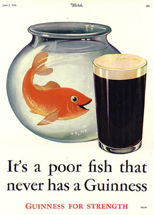 Guinness ingredients fish for Fish bladder in beer