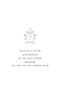 The encyclical letter from Pope Francis uses both science and religion to discuss climate change concerns.