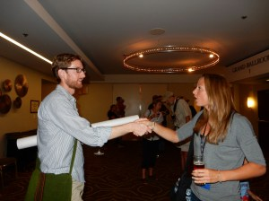 Professional conferences create opportunities to make the acquaintance of others in the field. (American Fisheries Society)
