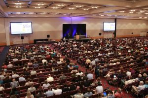 Plenary speakers often push boundaries and encourage professional conference attendees to think on topics in a new light. (American Fisheries Society)