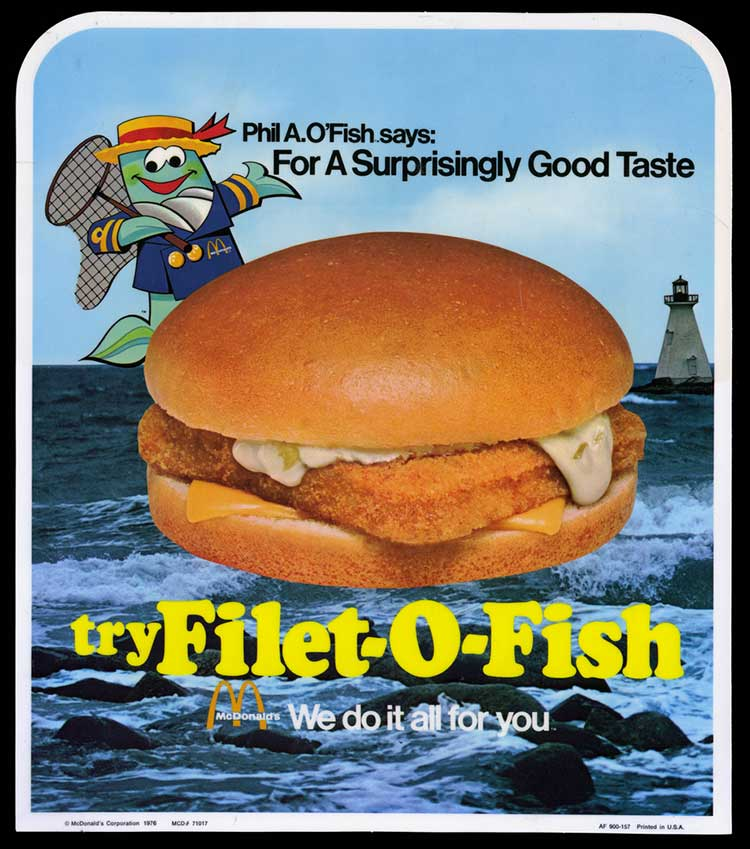 Beavers are fish during lent they are and so are other for Mcdonalds fish sandwich nutrition